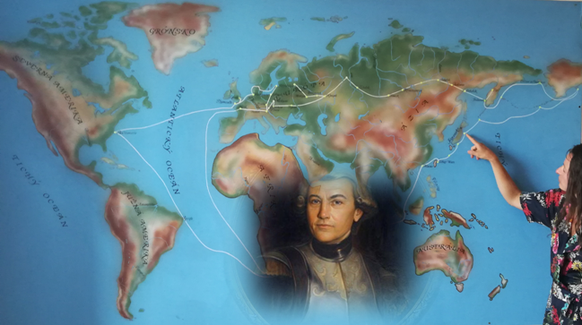 Conférence de Mai 2018 : «De la Slovaquie à Madagascar, à travers le continent eurasiatique, une vie digne d'un roman d'aventure : Maurice Benovsky (1746-1786)»