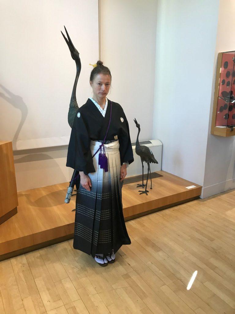Anita HENRY Japon Musée Georges Labit Conte Miyamoto Musashi